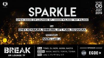 【KO KIMURA、スケジュール更新!】 KO KIMURAとDJ SHINKAWAが レジデントを務める「SPARKLE」が、 今週土曜にR Loungeにてレギュラー開催!