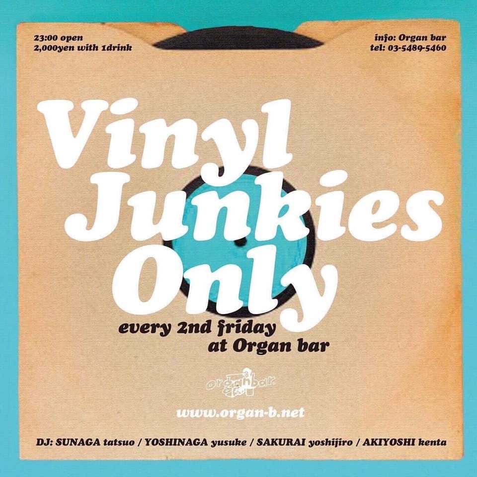 「Vinyl Junkies Only」に出演!!