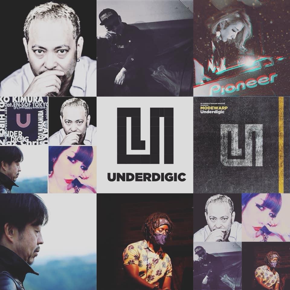 【KO KIMURA、スケジュール更新!】【Underdigic】は今夜23:00より!