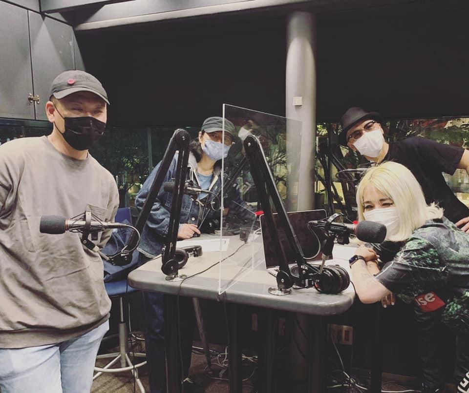 NAZWA!のWatusiとNaz Chrisが、 ナビゲーターを務めるJ-WAVE 「TOKYO M.A.A.D SPIN」6/1(月)の放送に、 連続シングルリリースプロジェクトを展開中の Co-Fusionがゲストで登場!!