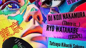 【KOJI NAKAMURA、スケジュール更新!】@ CAFE&DINER スタジオにて、 「NEW WAVE LOUNGE 」がスタート!